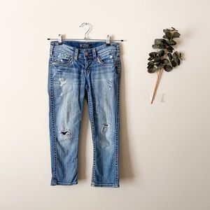 Silver Jeans Tuesday Low Capri Size 26